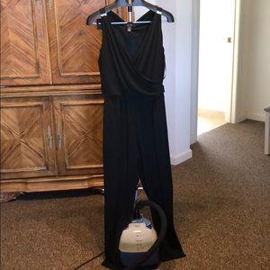 White House Black Market Black Jumpsuit